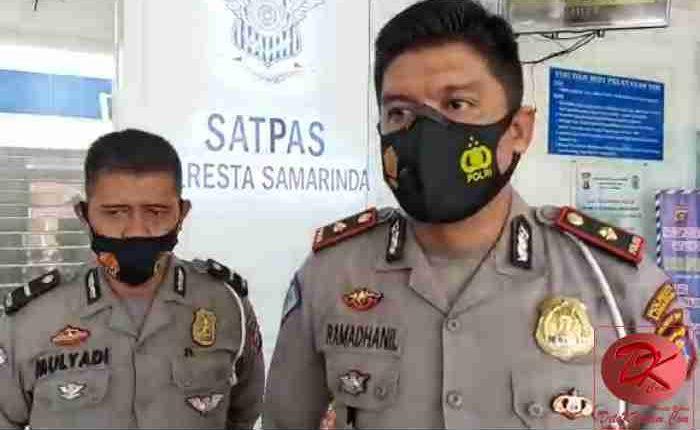 Kasat Lantas Polresta Samarinda Kompol Ramadhanil. (foto : Setyo)