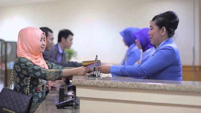 Pelayanan Bankaltimtara di Tanjung Redeb, Berau. Foto: Bankaltimtara