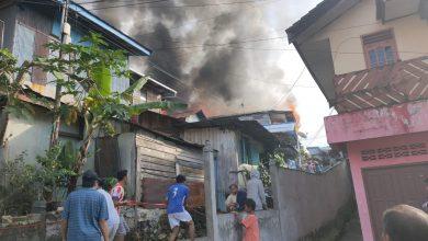 Photo of Musibah Kebakaran di Gunung Polisi, Hanguskan 11 Rumah Warga