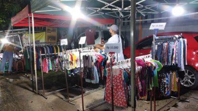 Photo of Sejumlah Pedagang Pasar Malam Bersyukur,  Karena Dapat Melakukan Aktivitas Berdagang Kembali