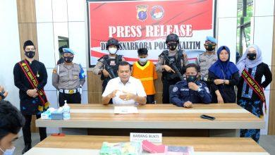 Photo of Diimingi Upah 10 Juta, Kurir Sabu Ditangkap Ditresnarkoba Polda Kaltim