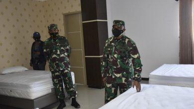 Photo of Pangdam VI Mulawarman Balikpapan Tinjau Ruang Isolasi Covid-19 di Asrama Haji