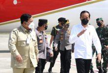 Photo of Presiden Jokowidodo Didampingi Prabowo Bertolak ke Kaltim, Tinjau Vaksinasi Hingga Resmikan Tol di Kaltim