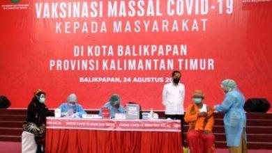 Photo of Mengakhiri Kunker di Provinsi Kaltim, Presiden Joko Widodo, Tinjau Langsung Pelaksanaan Vaksinasi di Kota Balikpapan