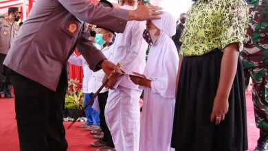 Photo of Lakukan Silahturahmi dengan PCNU Banyuwangi, Kapolri Ajak Perkuat Penanganan Covid-19